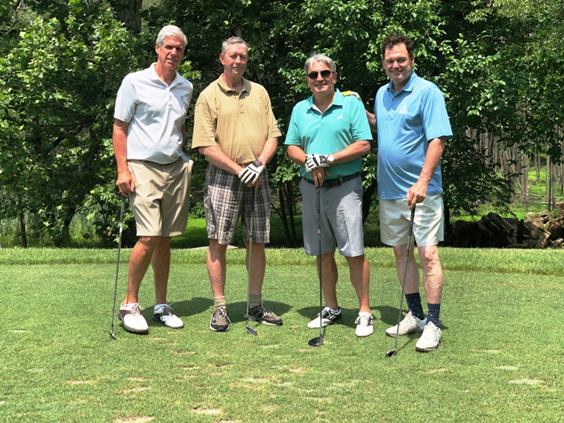 PHOTOS OF GOLF FOURSOMES FROM 2019 OUTING